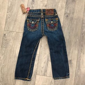 NWT toddler True Religion jeans size 3